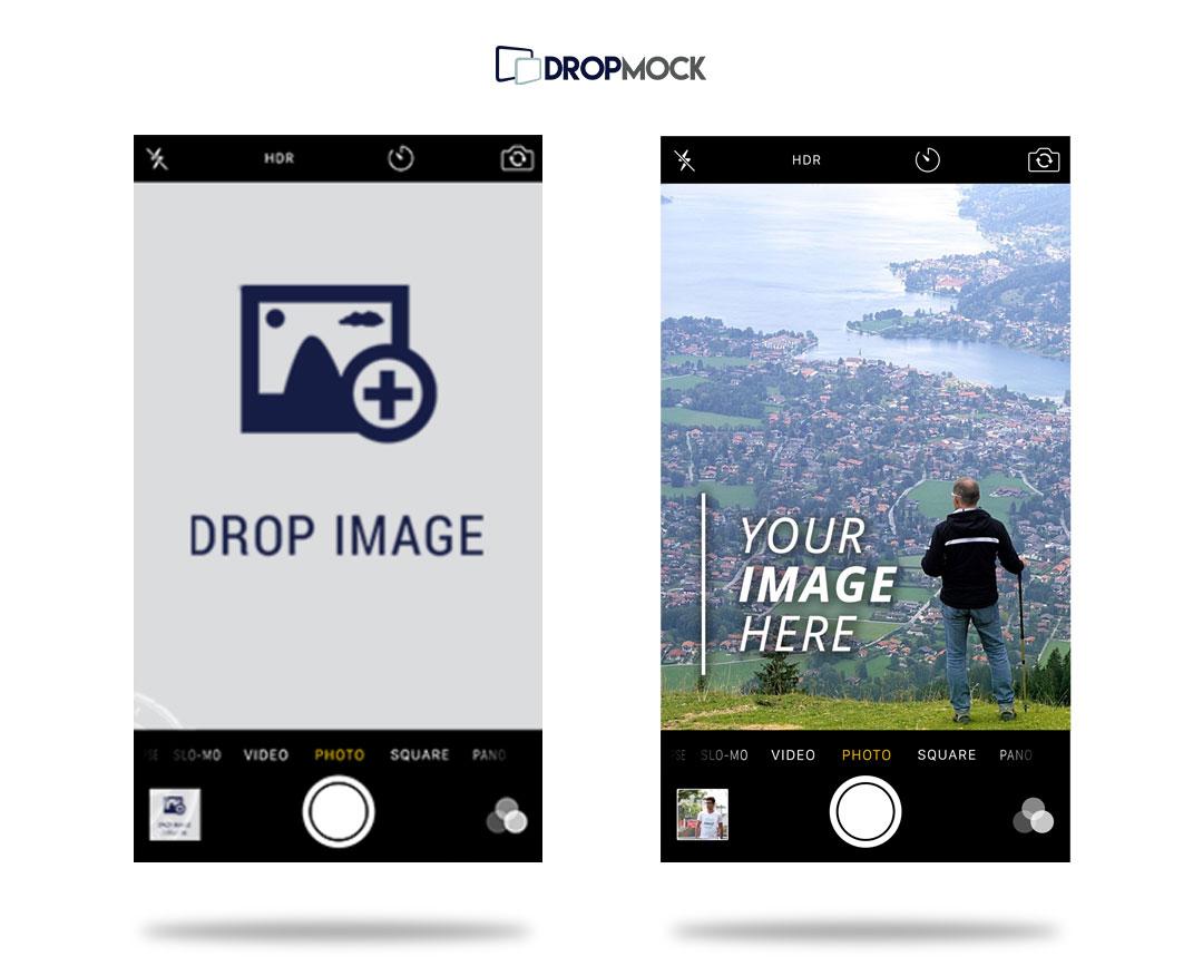 DropMock-Apple-iOS-Camera-Mockup