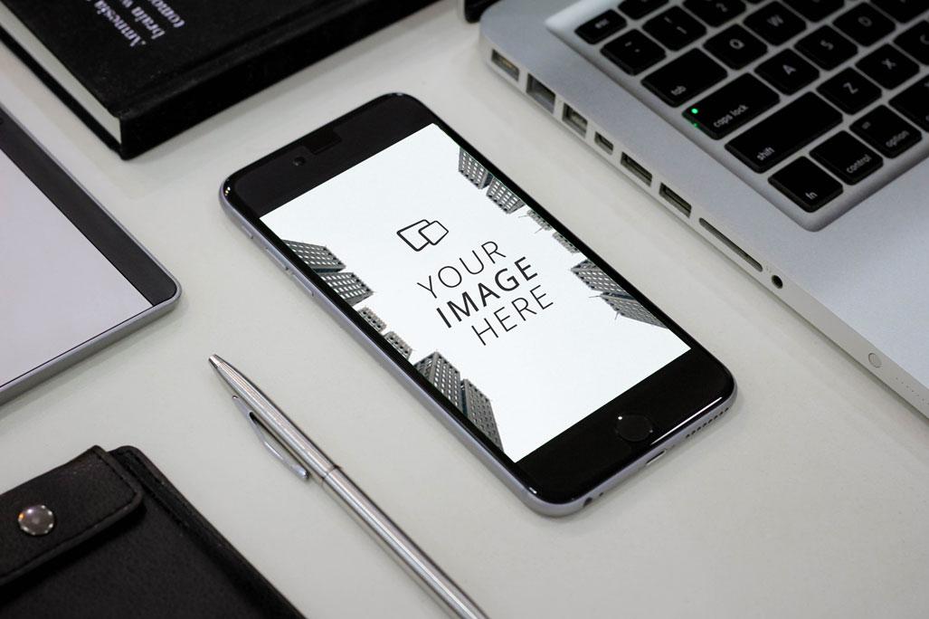 DropMock-Apple-iPhone-Office-Mockup